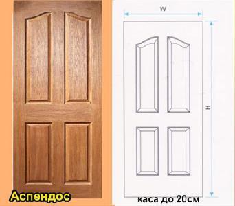 MDF Крафт Мастер фурнировани с каса до 200/40 мм